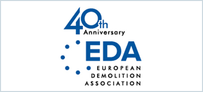 40th Anniversory EDA EUROPEAN DEMOLITION ASSOCIATION